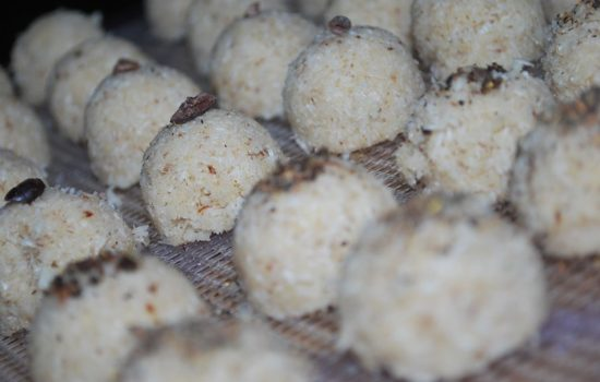 My Novel: Chapter 1 Part 3 and Raw Coconut Macaroons