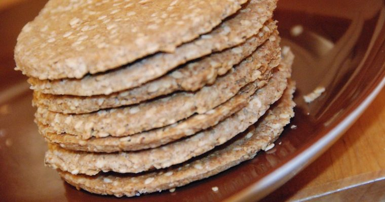 My Novel: Chapter 1. Part 4 and some Sesame Almond Crackers