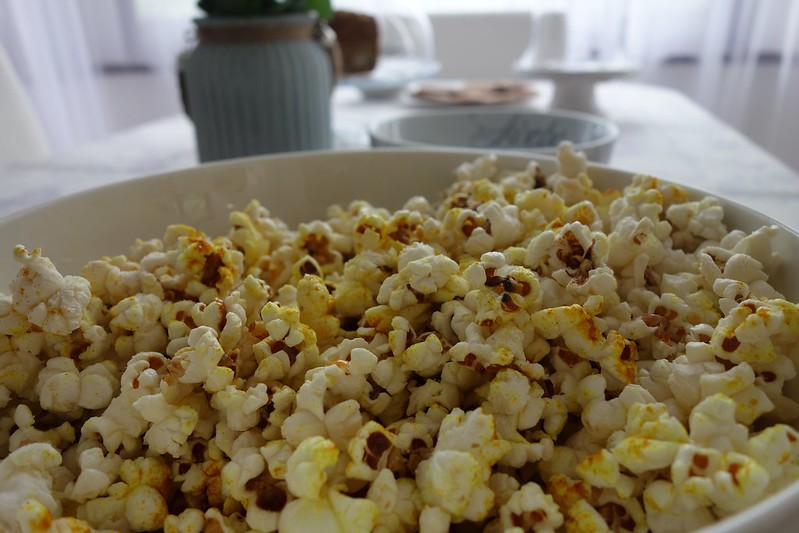 Salted Tumeric Popcorn